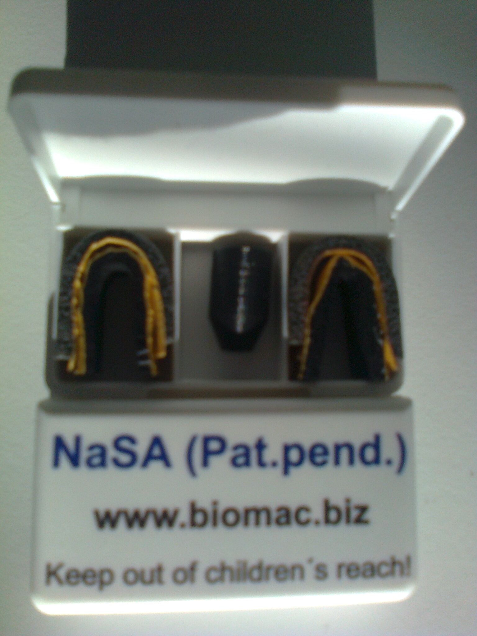 NaSA-valve in box